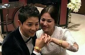 Fan thích thú với hình ảnh vợ chồng Song - Song