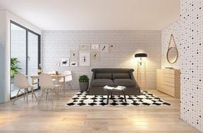 Tư vấn bố trí nội thất căn hộ 67m² với tổng chi phí chưa đến 80 triệu cho chàng trai 23 tuổi độc thân
