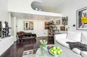 Bất ngờ với cách bố trí nội thất có gác xép vô cùng thông minh trong căn hộ 35m²