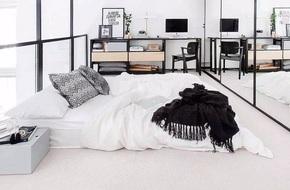 Những căn phòng ngủ chẳng cần đến giường nhưng khiến ai cũng thích