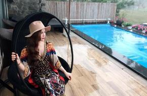 Cuộc sống hưởng thụ của Trần Hương - cô vợ hot girl đang nắm giữ trái tim Việt Anh