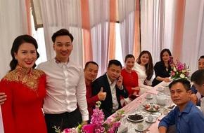 MC Thành Trung bí mật làm lễ ăn hỏi với bạn gái 9X