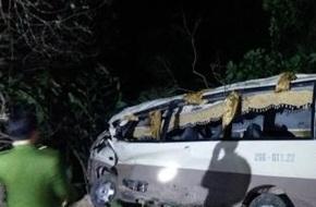 Xác định nguyên nhân vụ xe khách du lịch lao vực ở Lào Cai