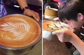 Cà phê Starbucks giảm giá, người Trung Quốc hò nhau xách xô, chậu đi mua