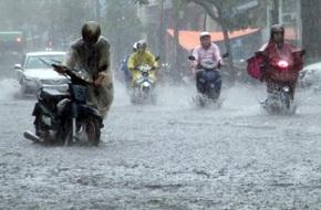 Dự báo thời tiết 24/5: Hà Nội mưa to, vùng núi nguy cơ sạt lở đất
