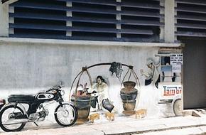 Vạn lần ngược xuôi Sài Gòn nhưng không phải ai cũng thấy những bức tranh tường chất ngất như thế!