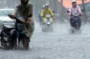 Dự báo thời tiết hôm nay (20.6): Mưa dông mạnh ở Bắc Bộ, Hà Nội ngập lụt