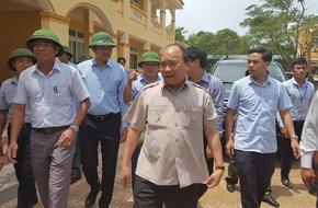 Thủ tướng yêu cầu Nghệ An sớm khắc phục hậu quả sau cơn bão số 10