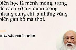 Những câu nói sống mãi trong trái tim mọi thế hệ học trò của thầy Văn Như Cương