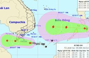 20 năm sau bão Linda, áp thấp nhiệt đới vào Nam bộ