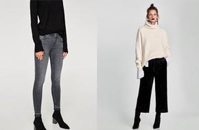 Gợi ý 15 mẫu quần dài từ Zara, Mango, H&M cứ mặc cùng boots là đẹp