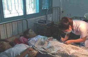 36 học sinh nhập viện sau khi ăn sáng