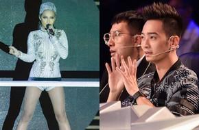 SlimV nhắc nhở Ái Phương: Là ca sĩ thì đừng hát như vũ công