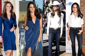 Có ai như chị em dâu nhà Hoàng gia Anh, Kate Middleton và Meghan Markle có tới 11 lần