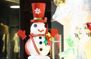Thị trường đồ trang trí Noel: Xuất hiện nhiều món