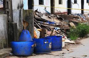 Người đàn ông nghi bị sát hại, vứt đầu vào thùng rác ở Bình Dương