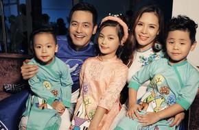 Mẹ 3 con Dương Tuấn Ngọc - cô vợ bằng tuổi