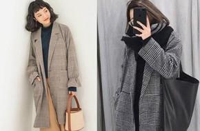 Chính xác thì đây là chiếc áo khoác dáng dài được các chị em nhiệt tình săn đón trong mùa lạnh này