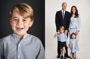 Hoàng gia Anh hé lộ ảnh dùng làm thiệp mừng Noel 2017, Công nương Kate xuất hiện với bụng phẳng lỳ
