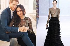 Hôn thê của Hoàng tử Harry diện váy hơn 1 tỉ đồng trong bộ ảnh đính hôn