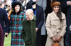 Cùng xuất hiện tại sự kiện, áo khoác mà Kate Middleton và tân Công nương mặc lại nhanh chóng được người ta tìm mua đến cháy hàng