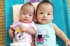 Bé sinh non bị xơ phổi rất nặng, cha vượt nghìn cây số đưa con đi ghép tế bào gốc và điều kỳ diệu xuất hiện
