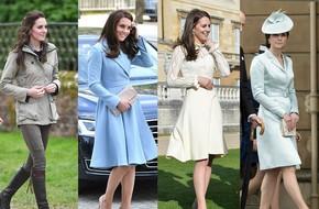 Tổng kết năm 2017, Công nương Kate đã chi hơn 3 tỷ đồng mua sắm quần áo