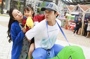 Lý Phương Châu đưa con gái đi du lịch cùng người tình Hiền Sến