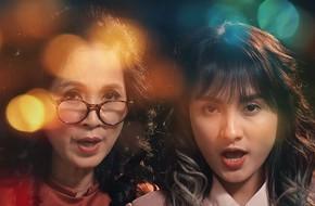 """Bảo Thanh cùng """"mẹ chồng"""" Lan Hương hát """"Happy new year"""" phiên bản """"Sống chung với mẹ chồng"""""""