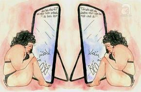 Yêu đơn phương, tôi đau khổ vì xấu xí đến mức đứng khóc trước gương mỗi ngày
