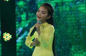 Đây là bé 13 tuổi vừa xinh, vừa hát dân ca hay như NSND Thu Hiền
