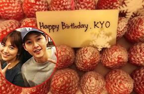 Song Joong Ki tổ chức sinh nhật cho vợ yêu Song Hye Kyo tại khách sạn 5 sao