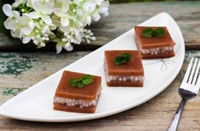 Thạch đậu đỏ tráng miệng ngày Tết là chuẩn nhất
