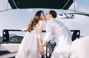 Vợ mới MC Thành Trung khoe ảnh trăng mật lãng mạn và sang chảnh như phim