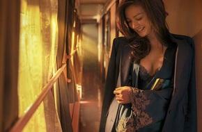 Ăn mặc xuề xòa nhưng khi đã lên đồ, Triệu Vy lại sexy đẹp khó cưỡng như thế này
