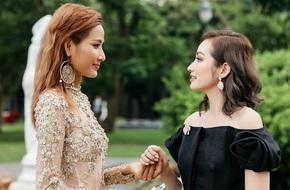 Hoàng Thùy bất ngờ mời Hoa hậu Trúc Diễm chấm thi ở 'The Face 2017'