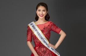 Vừa làm Á quân The Face 2017, Tường Linh đã thi Hoa hậu Liên lục địa