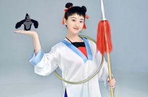 Không thể nhận ra đệ nhất mỹ nữ Cảnh Điềm trong bộ dạng ngổ ngáo này!