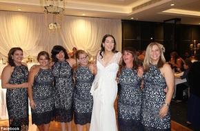 Nhiều người tưởng đây là 6 phù dâu nhưng khi sự thật được tiết lộ, ai cũng bất ngờ