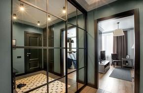 """Bên trong căn hộ cổ điển 48m2 có nội thất đầy vẻ """"nam tính"""""""