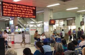Nhiều bệnh viện tại Sài Gòn đặt màn hình lớn, lập chốt cấp cứu cho bệnh nhân xem U23 Việt Nam đá chung kết