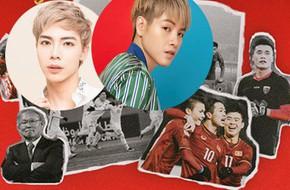 Ai cũng sẽ vỡ òa cảm xúc khi nghe Đức Phúc và Erik kết hợp trong ca khúc cổ vũ U23 Việt Nam