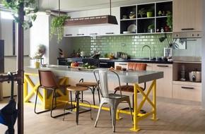 Thiết kế căn hộ 122m2 có phòng bếp lớn
