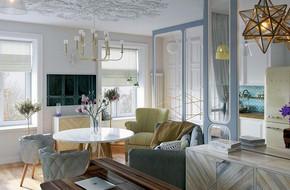 Thiết kế căn hộ nhỏ có hai phòng ngủ cực kỳ thông minh