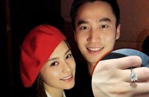 Sau scandal ảnh nóng với Trần Quán Hy, Chung Hân Đồng hạnh phúc khoe được bạn trai cầu hôn