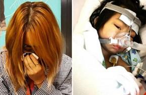 Nghẹn ngào câu nói của cô bé 9 tuổi mắc ung thư: 'Con sẽ vì mẹ mà chiến đấu với bệnh tật'