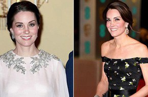 Công nương Kate Middleton cũng