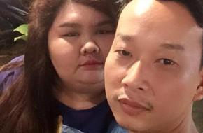 Cô nàng nặng 120kg được bạn trai tặng 2 chiếc đèn cầy ngày Valentine