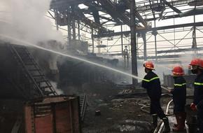 Hà Nội: Nổ lớn tại cụm công nghiệp Quất Động khiến 2 người trọng thương