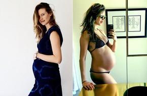 Muốn giữ dáng khi đang mang thai, chị em thử học cách này của thiên thần nội y Behati Prinsloo